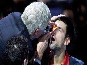 deporte y daños oculares