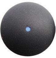 pelota de squash punto azul