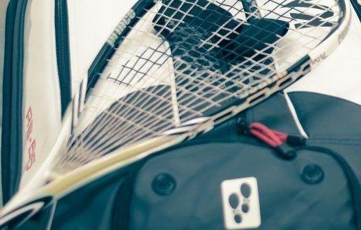 raqueta de squash