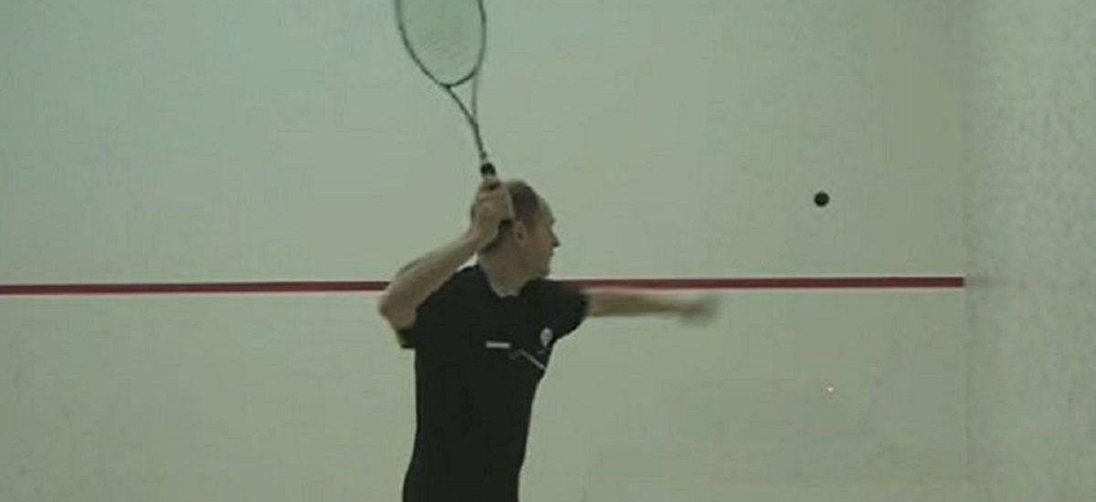 saque en el squash